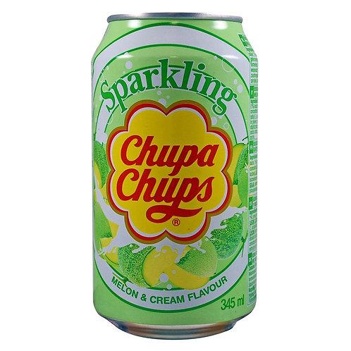 Chupa Chups Melon & Cream Flavour