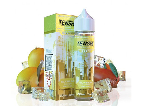 Tenshi Natomi Menthol | ELYSIUM - MANGO MENTHOL | 50ml Shortfill | 0mg
