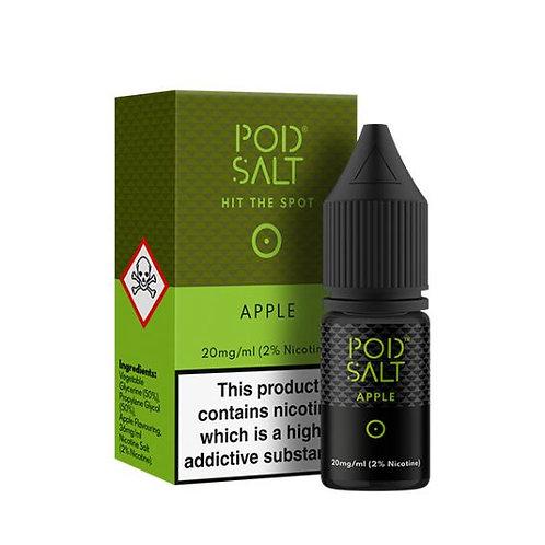 Pod Salt Nic Salts - Apple 10ml 20MG