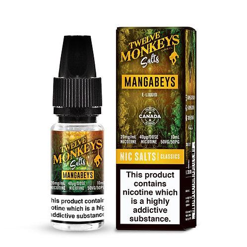 Twelve Monkeys Nic Salts MANGABEYS