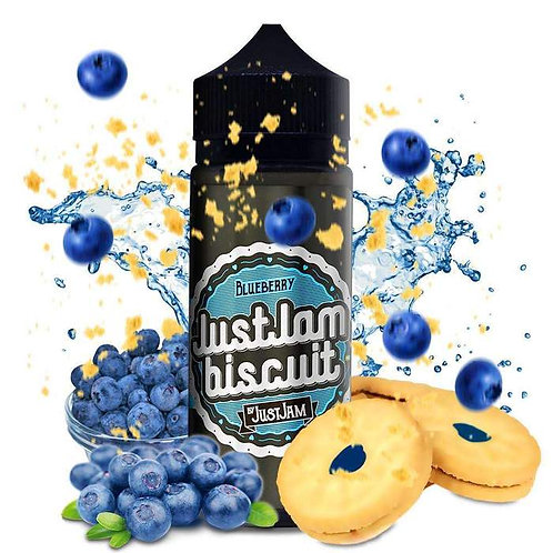 JUST JAM BISCUIT - BLUEBERRY 50ml