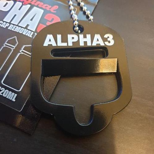 Alpha 3 in 1 Shortfill Cap Removal Tool