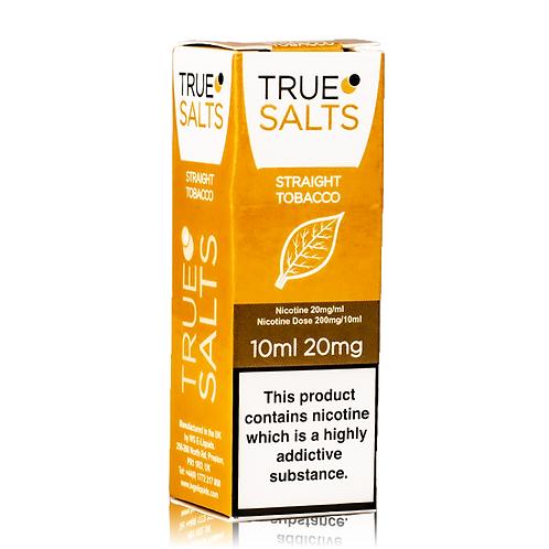 Straight Tobacco by True Salts 10ml
