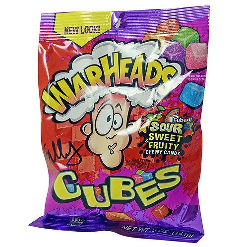 Warheads Sour Sweet Fruity Cubes 141g