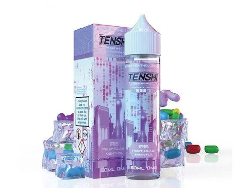 Tenshi Natomi Menthol | IRIS - FRUIT BLAST MENTHOL | 50ml Shortfill | 0mg
