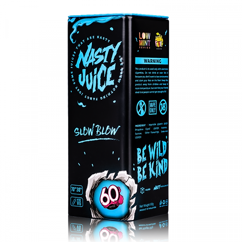 Slow Blow By Nasty Juice 50ml Shortfill