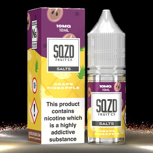 SQZD Grape Pineapple Nic Salt