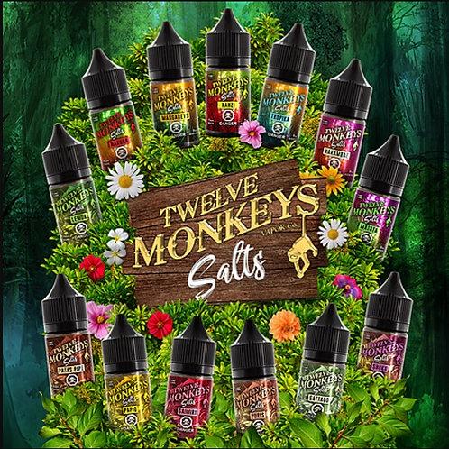 Twelve Monkey Nic Salts 20mg