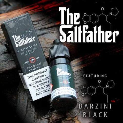 The Saltfather Nic Salts - Barzini Black 10ml 20mg