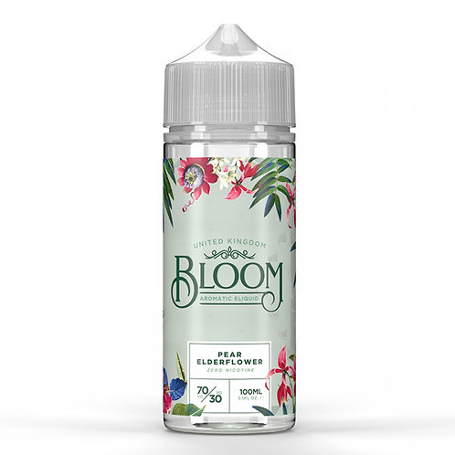 Pear Elderflower By Bloom 100ml Shortfill