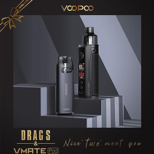 VOOPOO Christmas Gift Set - Drag X & VMATE Pod