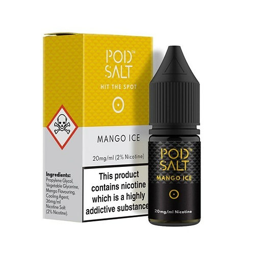 Pod Salt Nic Salts - Mango Ice 10ml 20MG