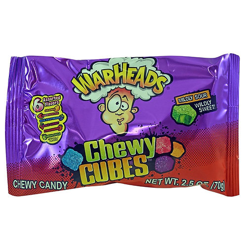Warheads Chewy Cubes 70g