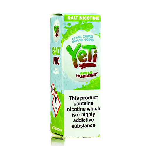 Yeti Salts - Apple & Cranberry 20MG