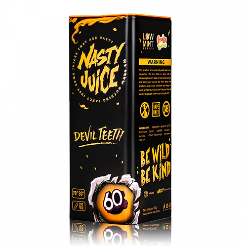 Devils Teeth By Nasty Juice 50ml Shortfill