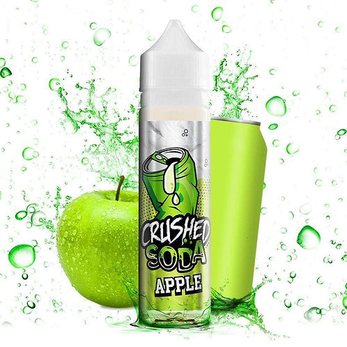 Crushed Soda -  Apple 50ml Shortfill E-Liquid