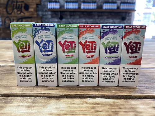 Yeti Salt E-liquids 10ml