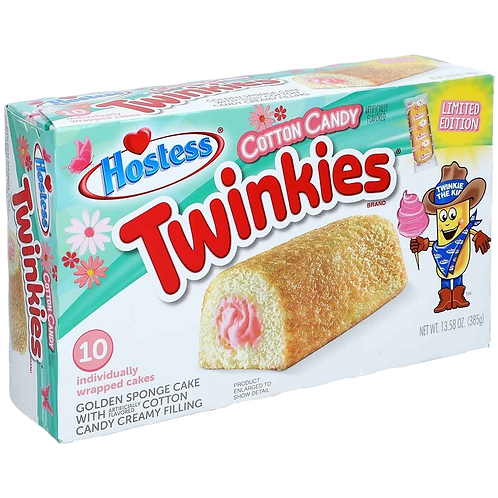 Hostess Twinkies Cotton Candy Limited Edition