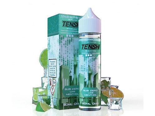 Tenshi Natomi Menthol | SUB ZERO - LIME MENTHOL | 50ml Shortfill | 0mg