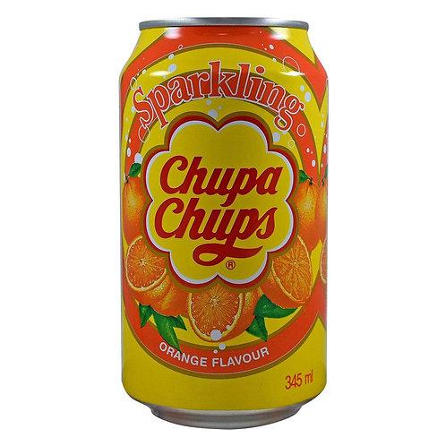 Chupa Chups Sparkling Orange Flavour