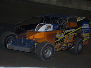 DAN POMPEY MAKES STATEMENT, MOOSE GULLEY TAKES FIRST CAREER WIN AT PENN CAN SPEEDWAY OPENER