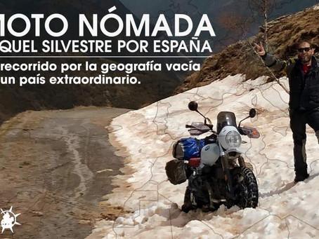 MOTO NÓMADA POR ESPAÑA -Miquel Silvestre