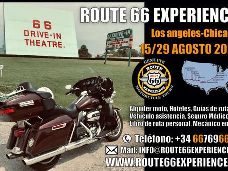Route 66 Experience - 1 de Agosto - 4950 € por persona