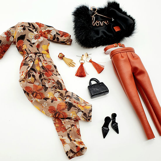 Total Look 5 Piece Fall in Melbourne Ensemble