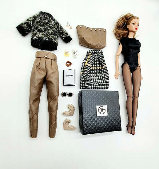 Total Look 5 Piece Casual Chic Fashion Outfit
