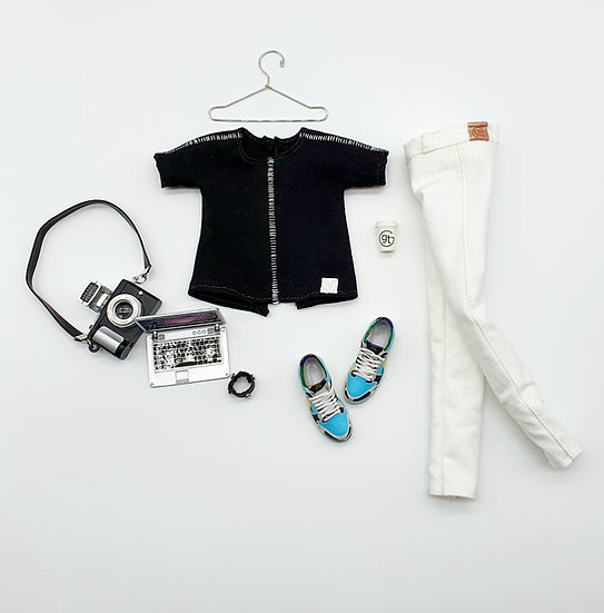 Total Look 3 Piece Minimalist Outfit