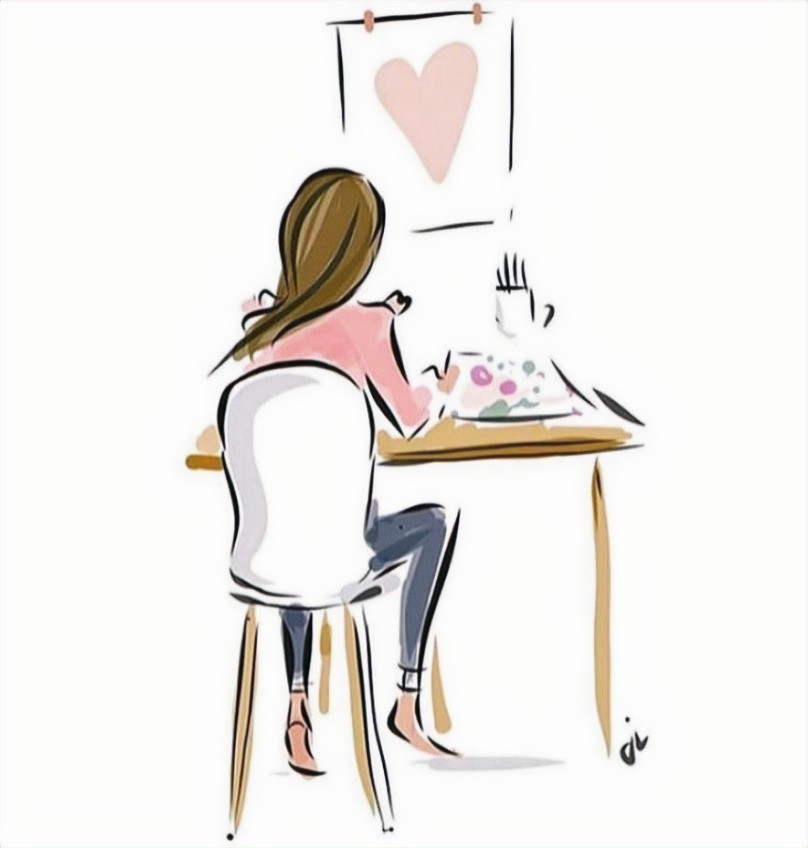 fashion art illustration drawing by Jennifer Valez