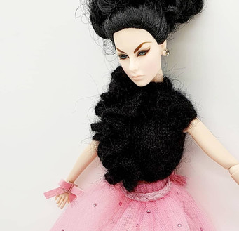Integrity Toys Fashion Royalty Agnes Von Weiss in Our Candy Outfit - perfect doll photography model