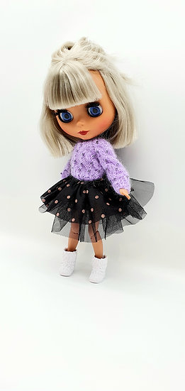 Doll Beaded Mohair Jumper