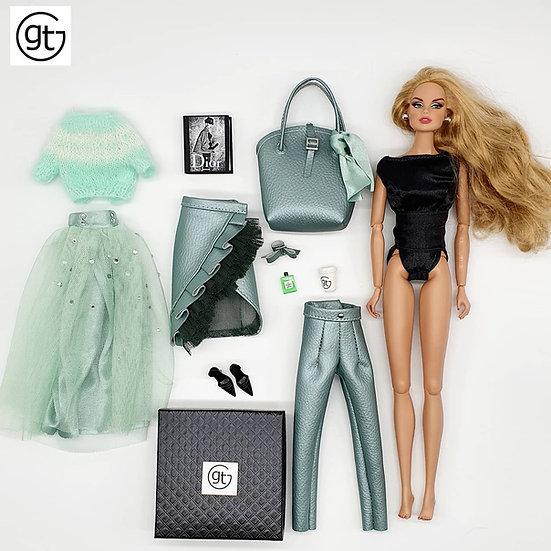 Total Look 6 Piece Fashion Ensemble