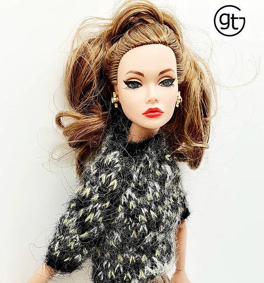 Doll Fashion Nordic Knit Jumper