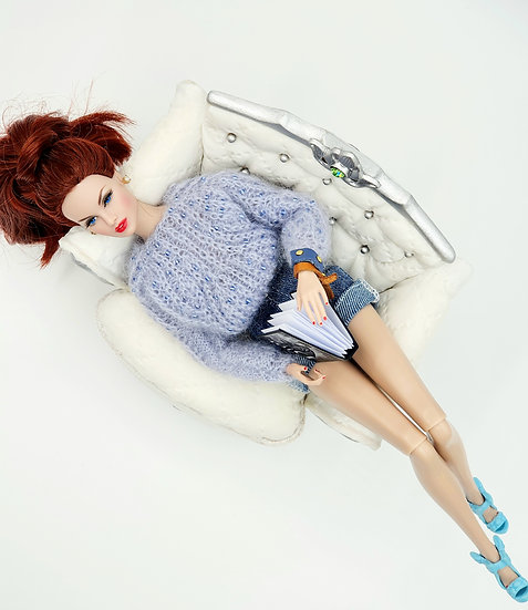 Doll Fashion Cable Knit Jumper