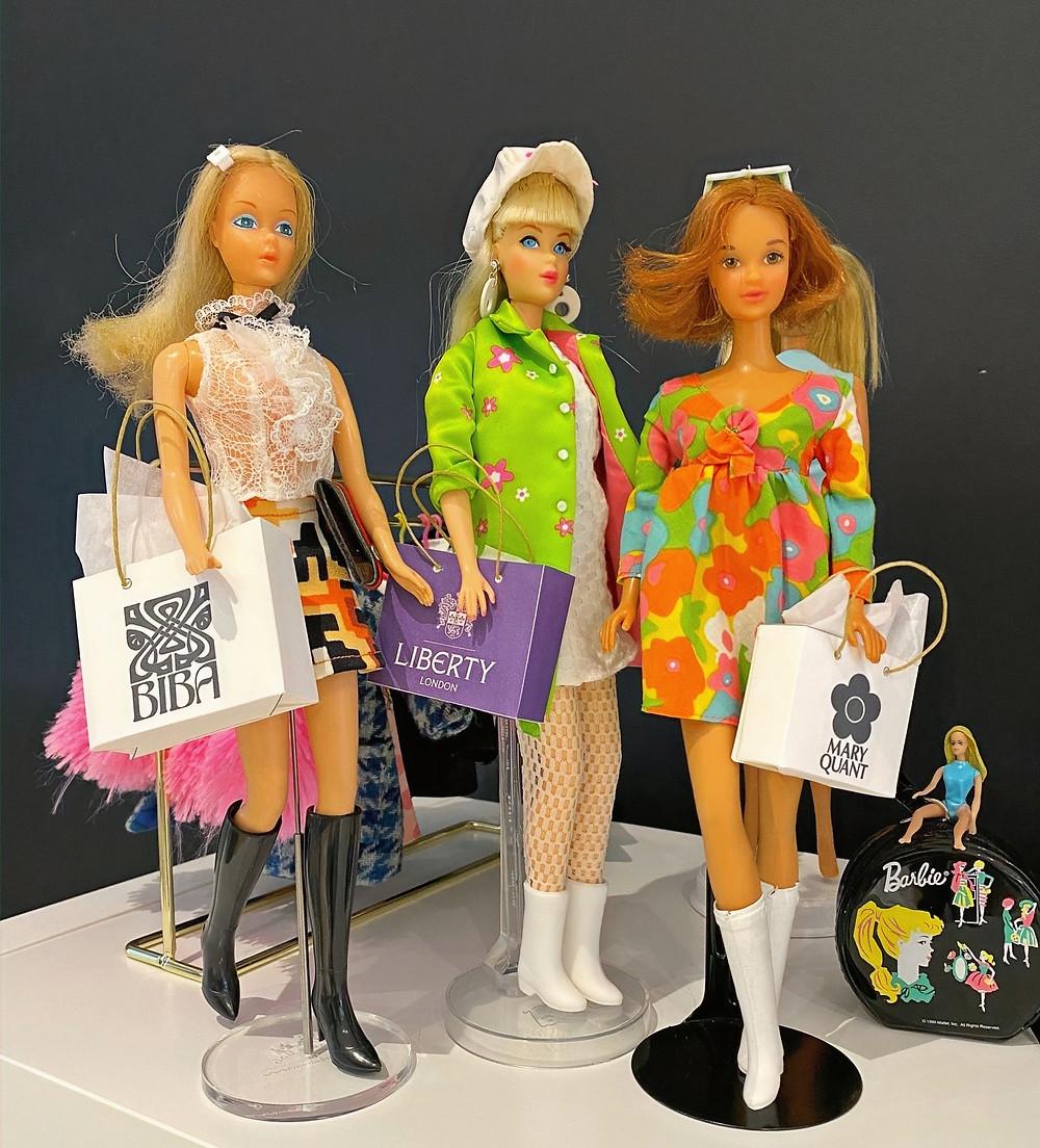 Vintage Barbie Dolls - collection of Jennifer Vallez