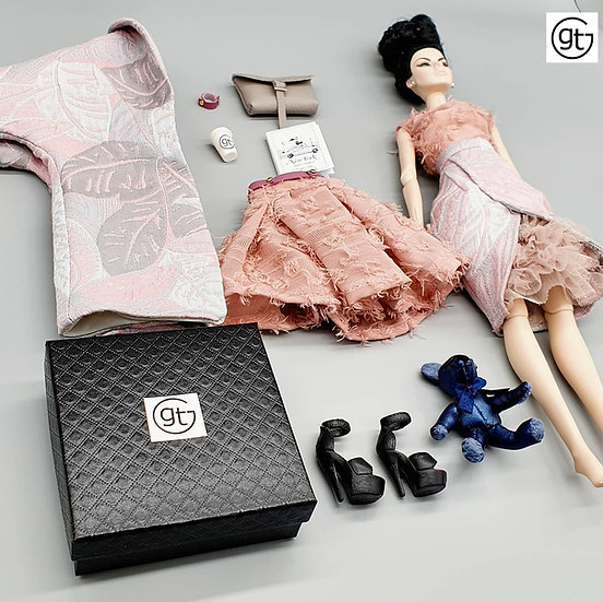 Total Look 5 Piece Fashion Pastel Outfit
