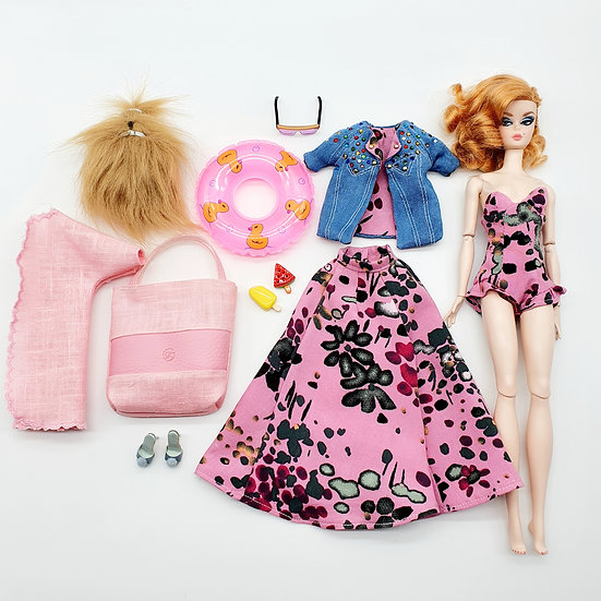 Total Look 7 Piece Beach Happy Outfit