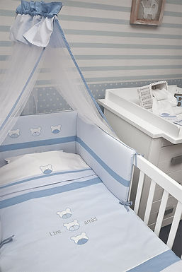 Baby Oliver Peek a Boo baby bedding embroidered collection