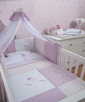 Baby Oliver Ballerina Dreams baby bedding embroidered collection
