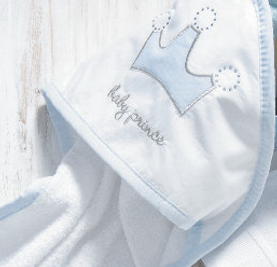 Baby Oliver Baby Prince baby bedding embroidered collection with original Swarovski Crystals
