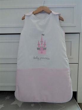 Baby Oliver Pink Castle 2,5 tog sleeping bag