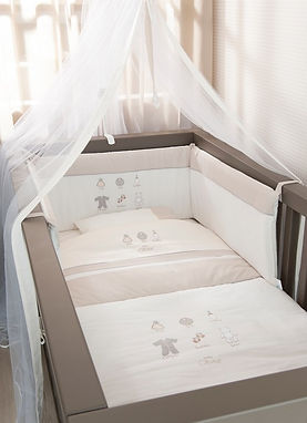 Baby Oliver Little Things baby bedding embroidered collection