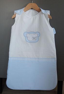 Baby Oliver Teddy Blue 2,5 tog sleeping bag