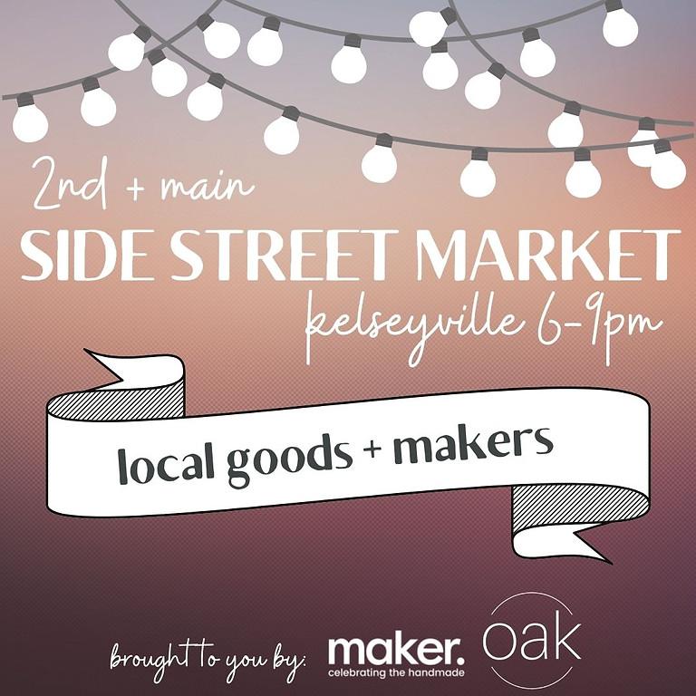 2nd + main SIDE STREET MARKET kelseyville