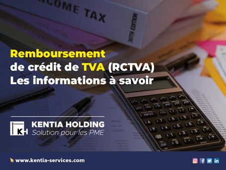 Remboursement de crédit de TVA (RCTVA), les informations à savoir