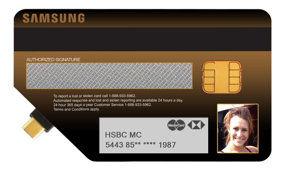 Samsung FPO Card Back