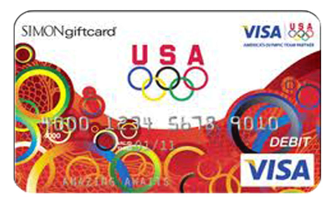 Beijing Olympic Visa Debit Card