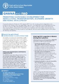 Ghana and FAO